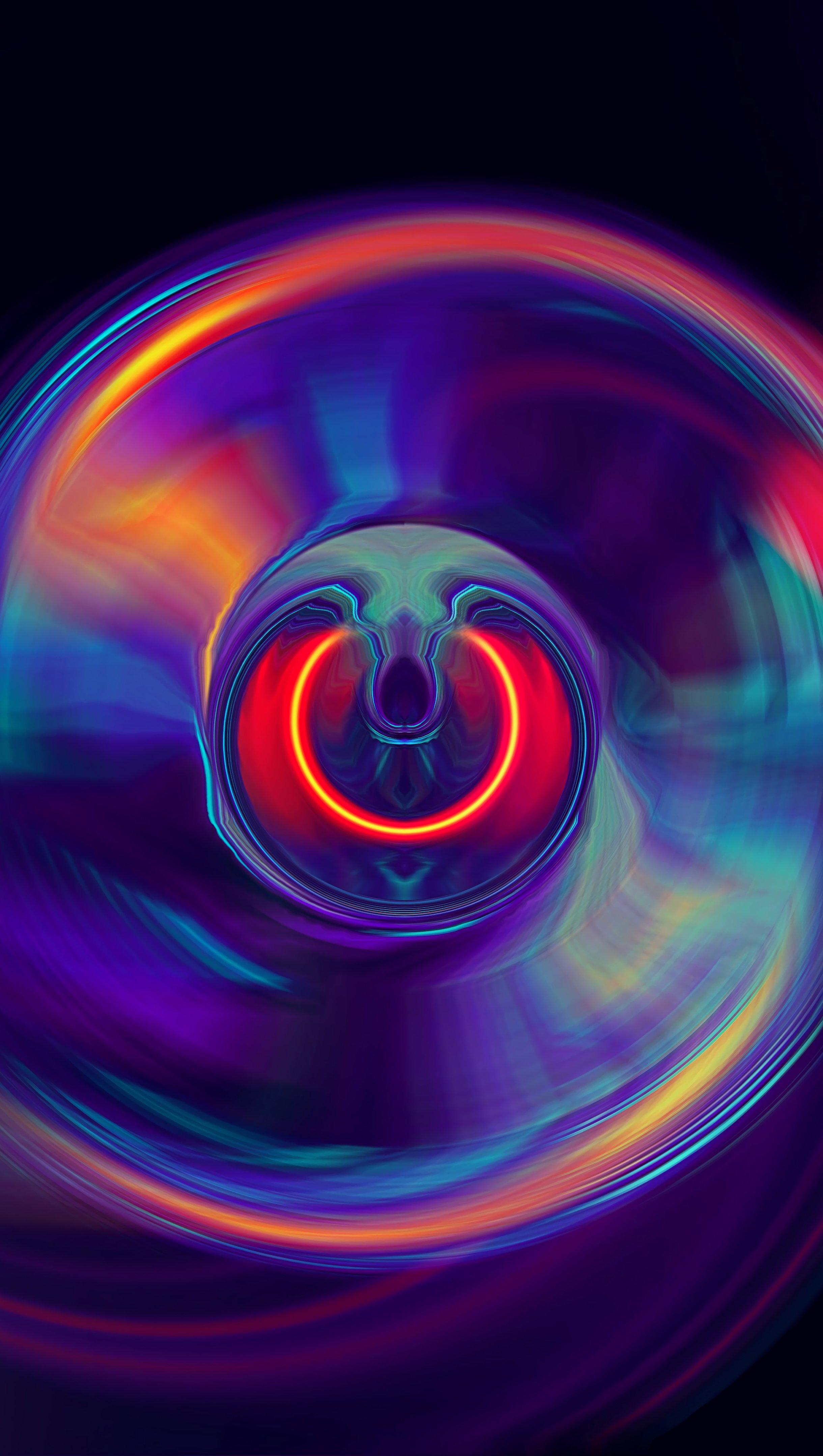 Fondos de pantalla Lente abstracto Vertical