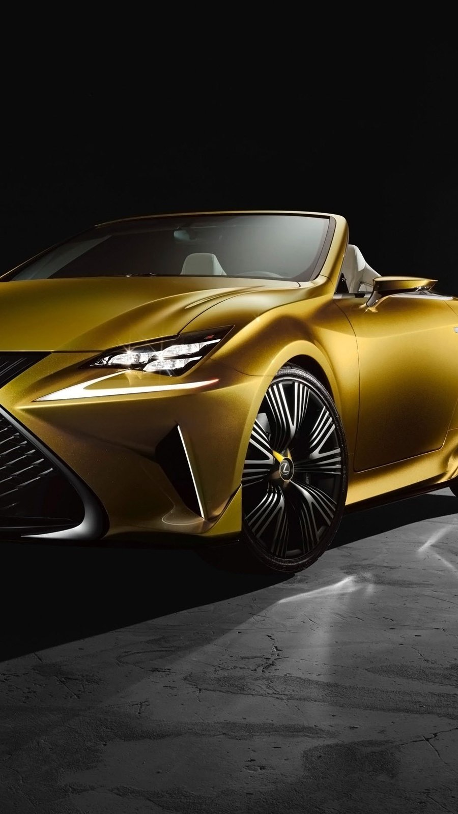 Wallpaper Lexus lF C2 Concept Vertical