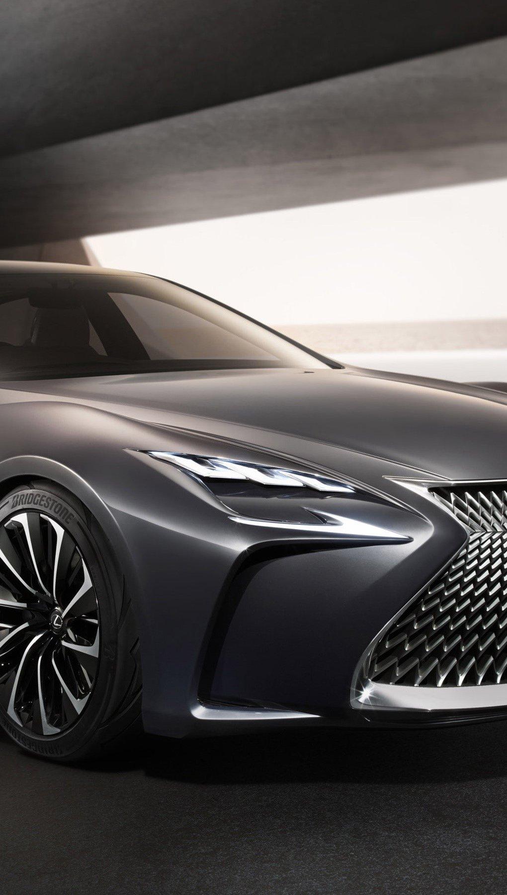 Wallpaper Lexus LF FC Concept Vertical