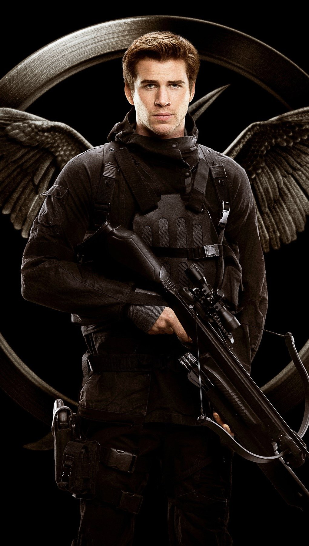 Fondos de pantalla Liam Hemsworth como Gale Hawthorne Vertical