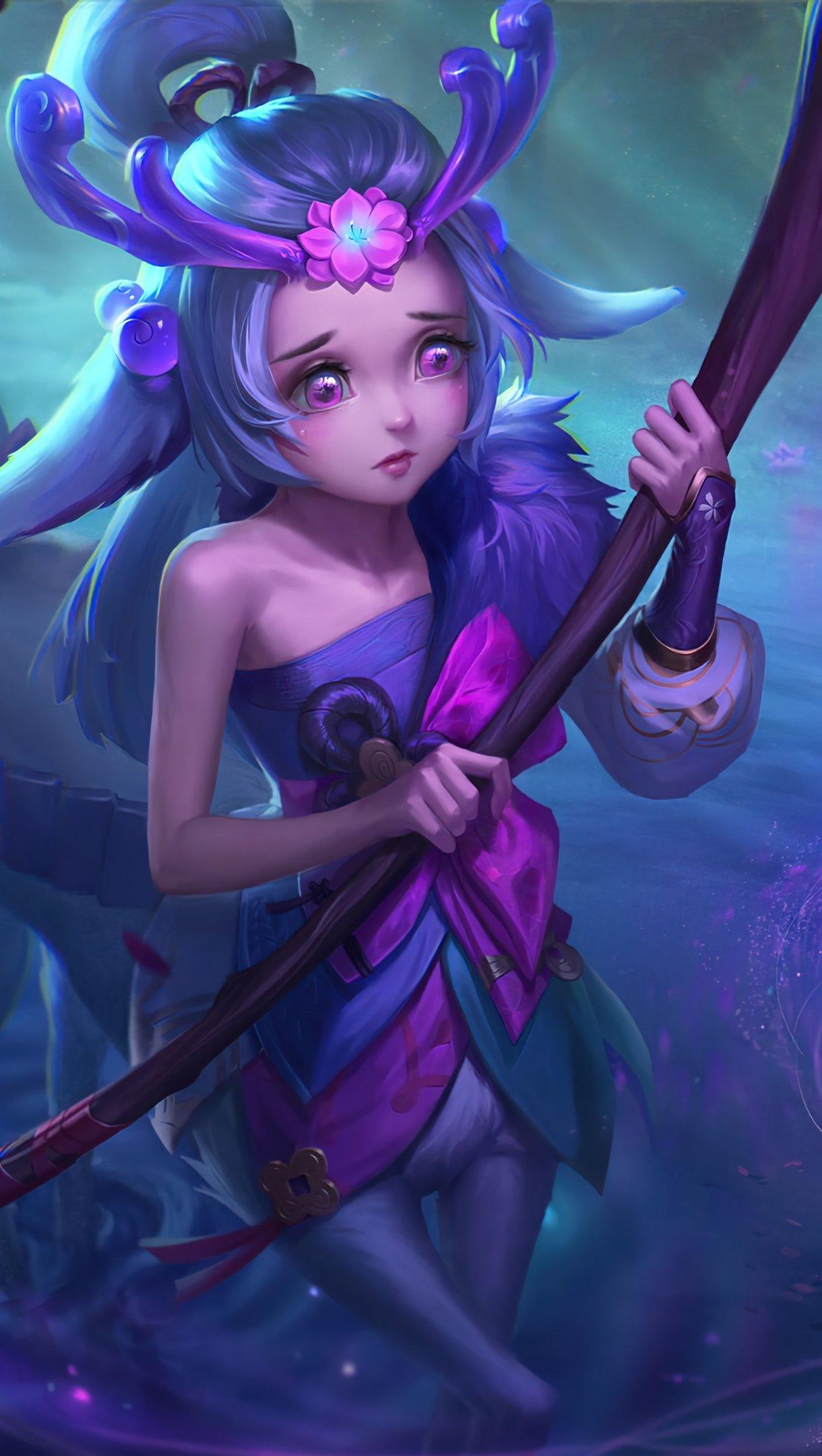 Fondos de pantalla Lillia Spirit Blossom League of Legends Vertical
