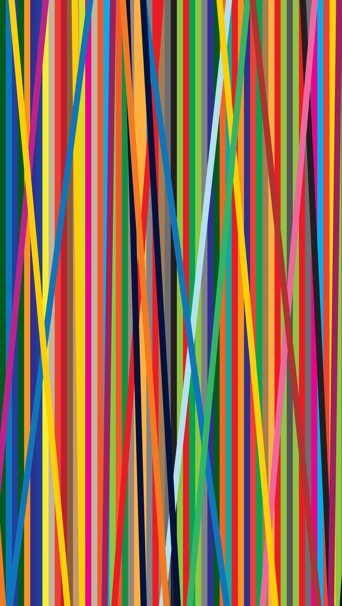 Wallpaper Colored lines Vertical