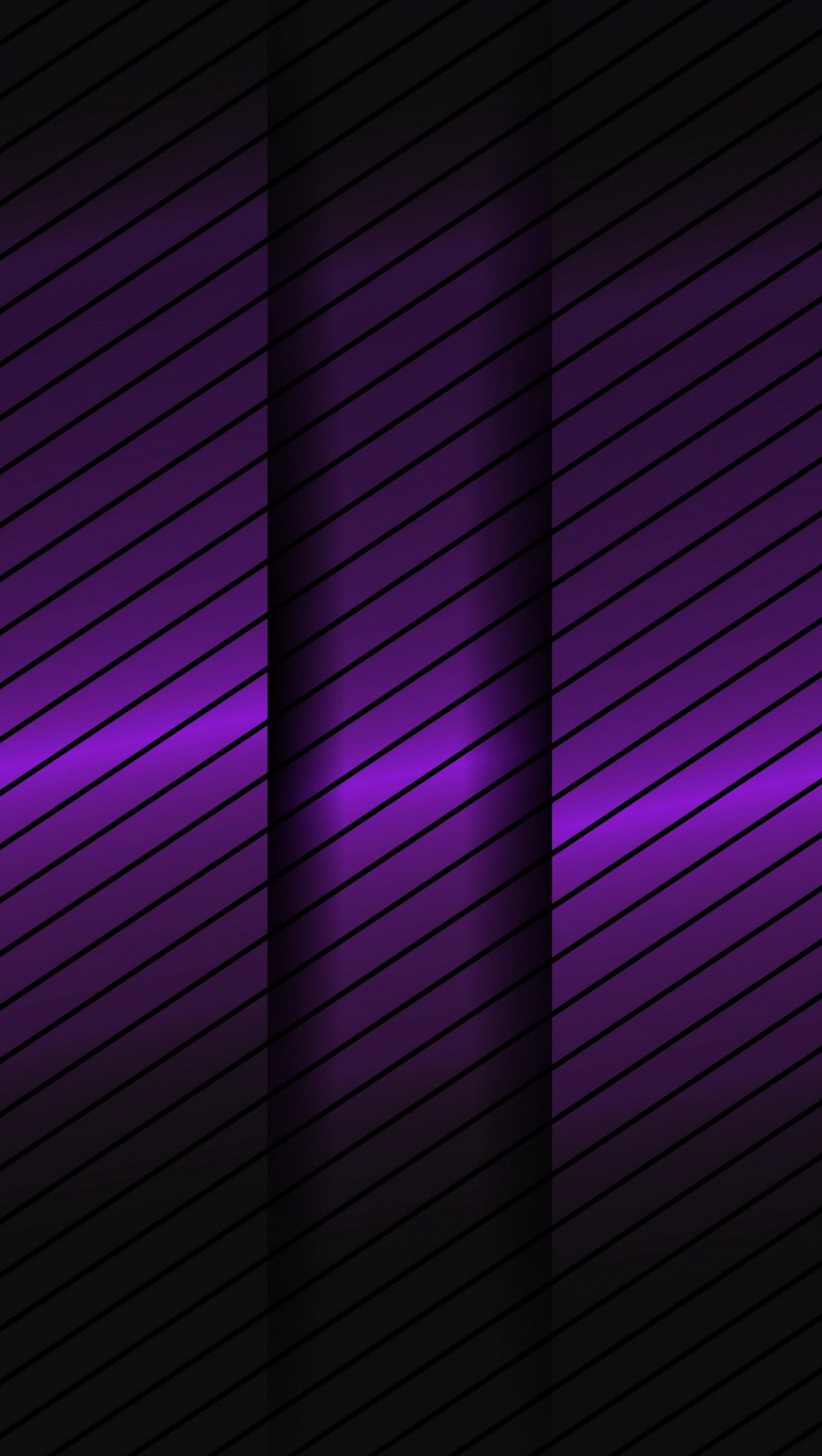 Wallpaper Purple and black lines Vertical