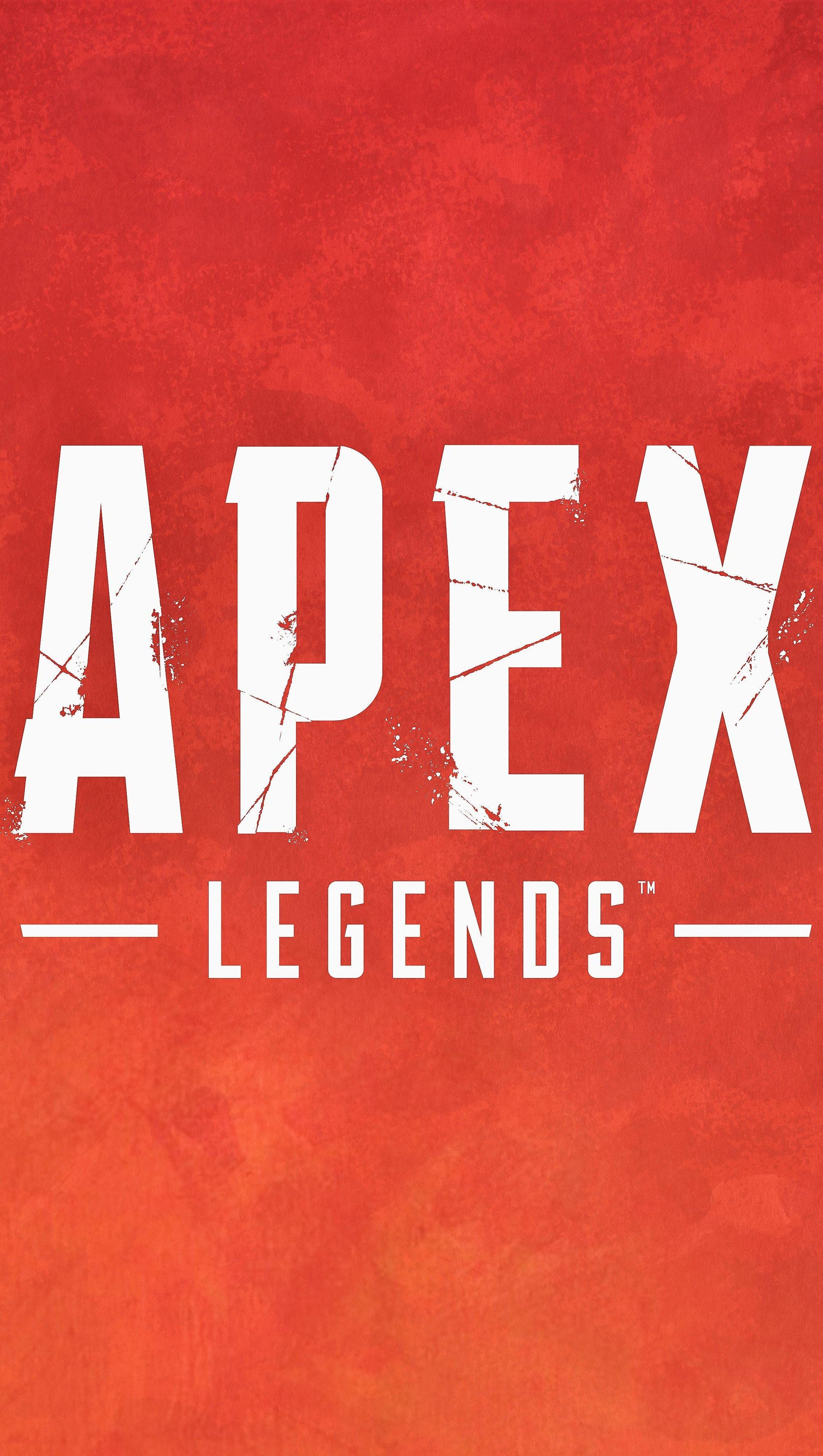 Fondos de pantalla Logo Apex Legends Vertical