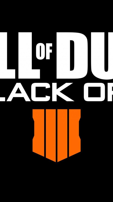 Wallpaper Logo Call of Duty Black Ops 4 Vertical