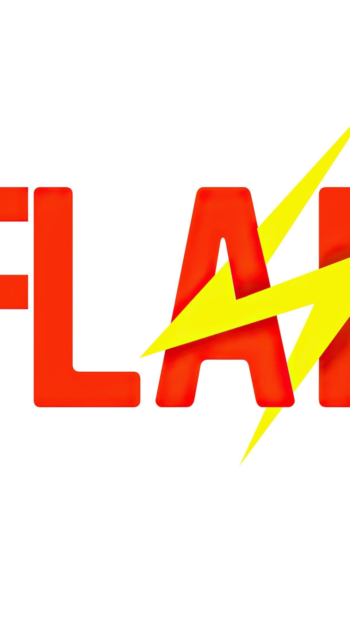 Fondos de pantalla Logo de Flash Vertical