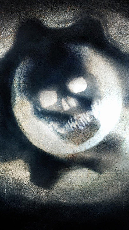 Wallpaper Gears of War 4 logo Vertical