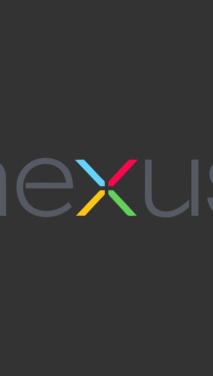 Wallpaper Google Nexus logo Vertical