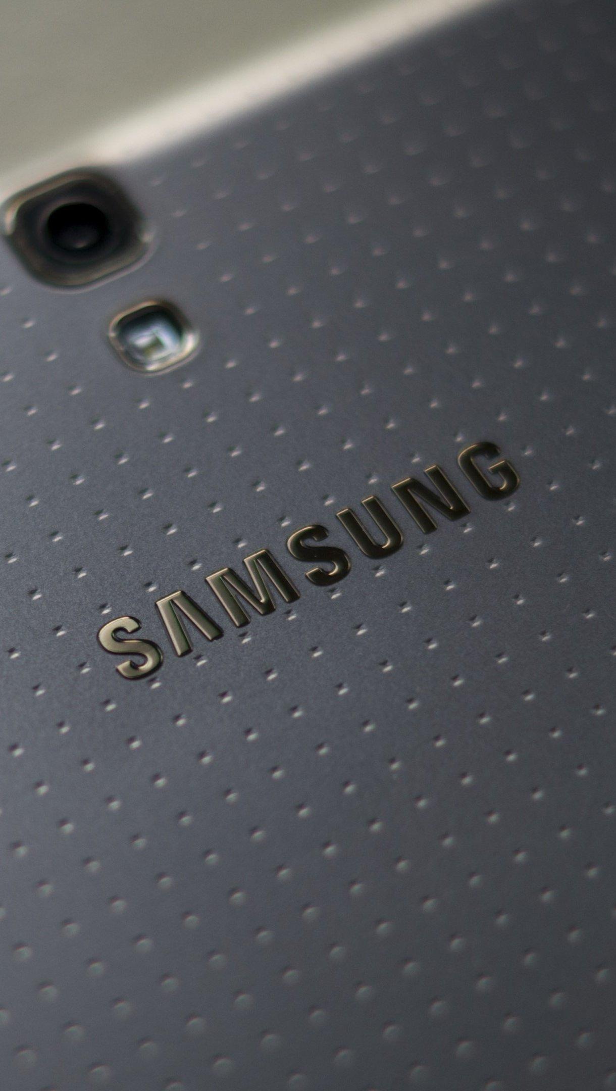 Wallpaper Samsung Galaxy logo Vertical