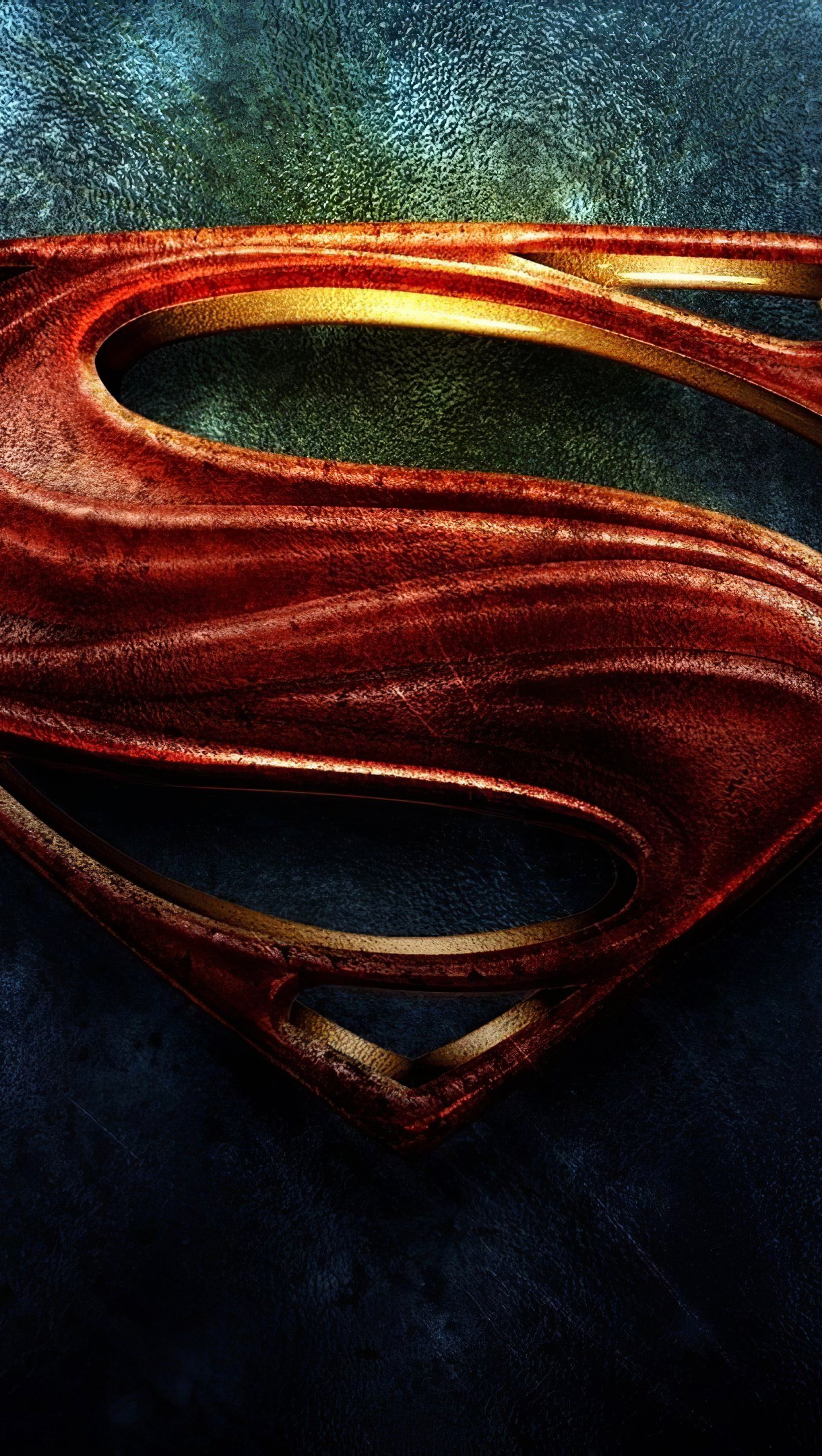 Wallpaper Superman Logo Vertical