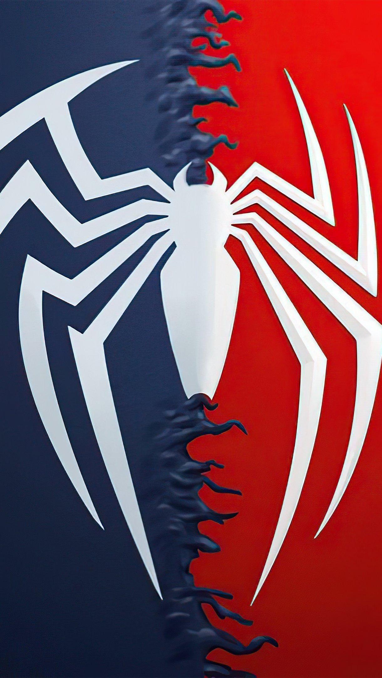 Wallpaper Spiderman Logo Vertical