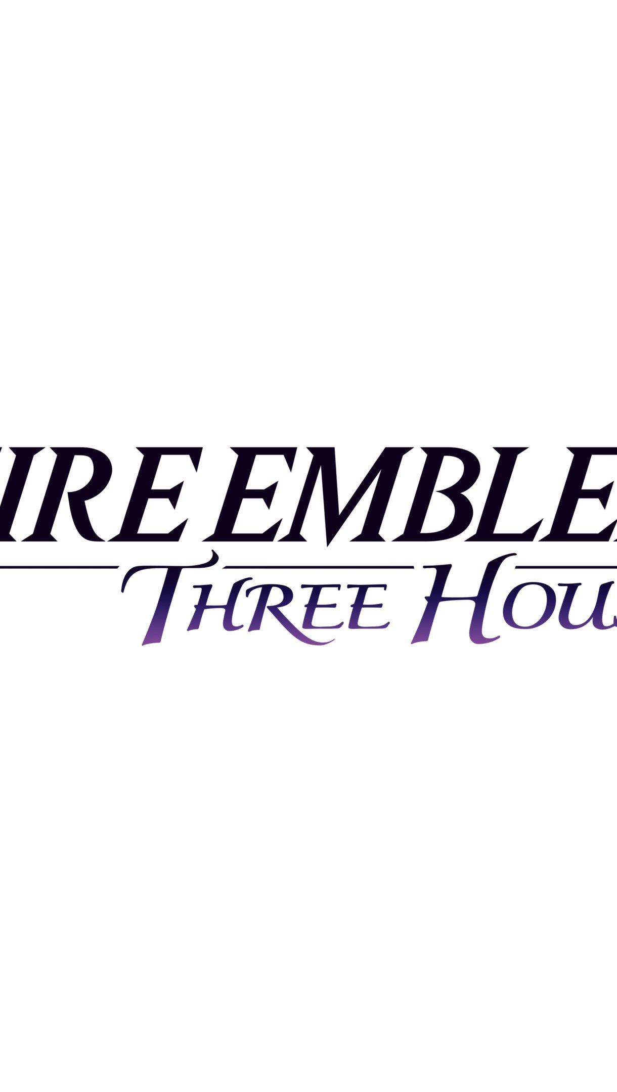 Fondos de pantalla Logo Fire Emblem: Three Houses Vertical