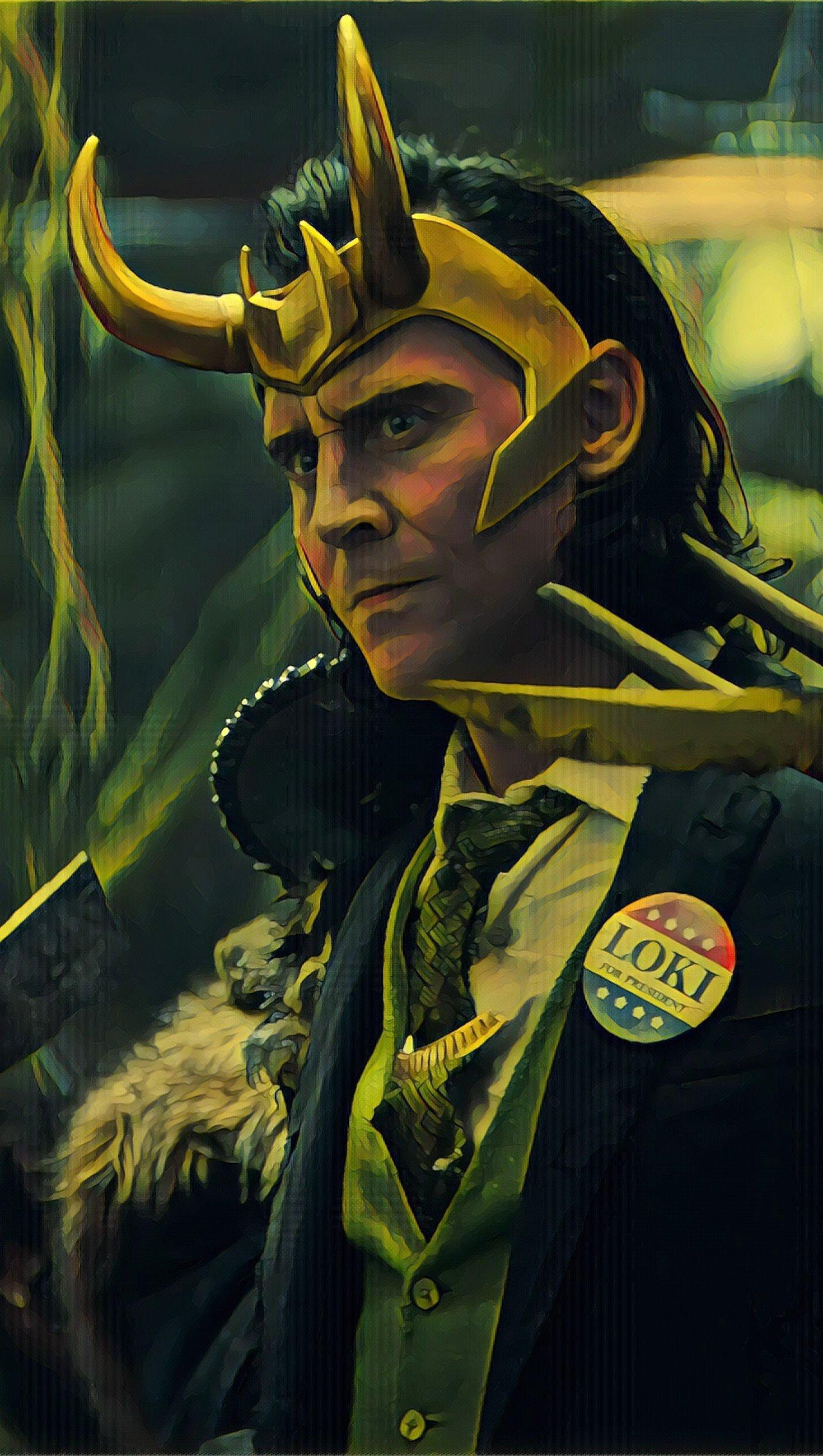 Wallpaper Loki 2021 Vertical