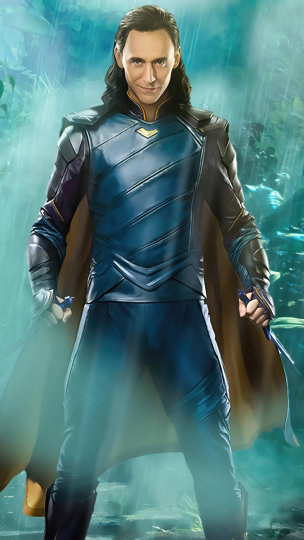 Wallpaper Loki Where mischief lies Vertical