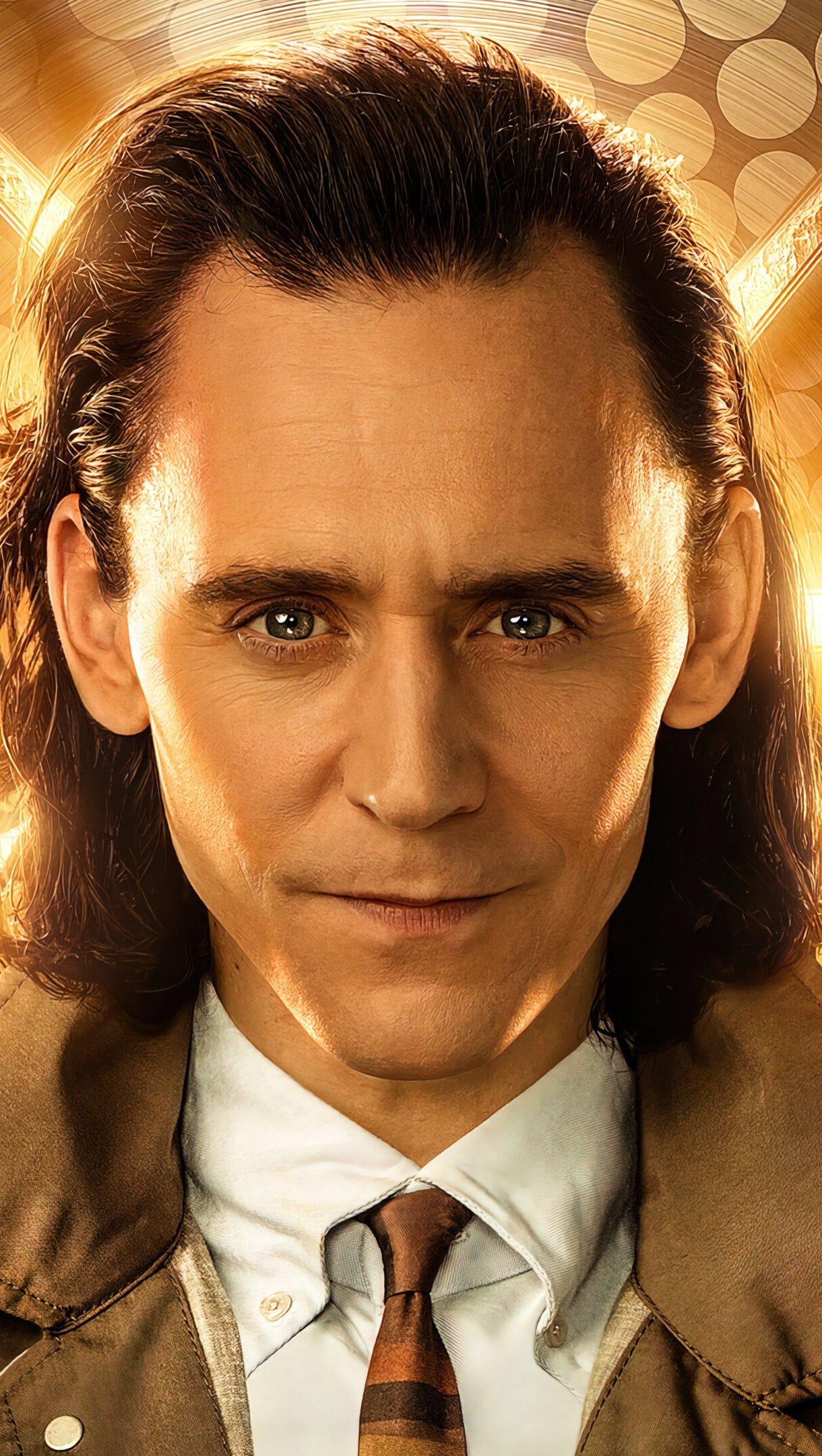 Wallpaper Loki Tom Hiddleston Loki Series Vertical