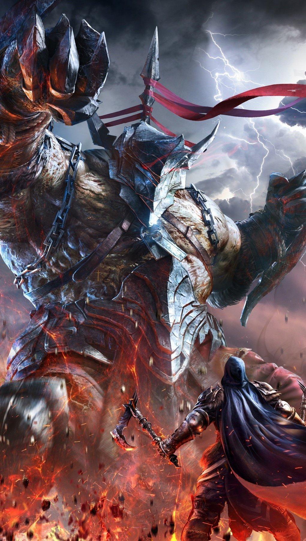 Fondos de pantalla Lords of the fallen Vertical