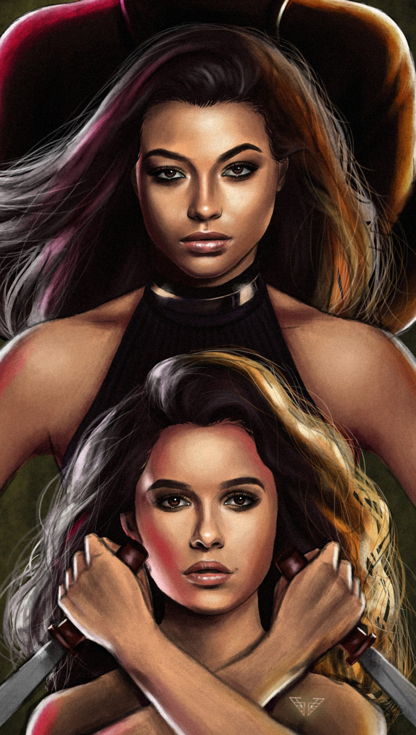Wallpaper Charlie's Angels Vertical