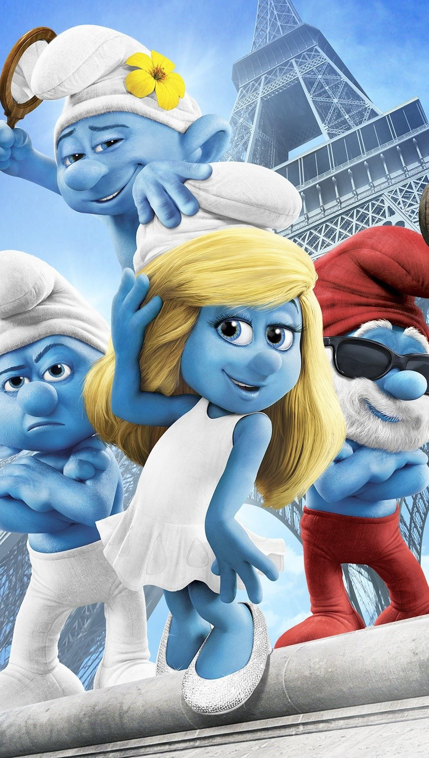 Wallpaper The Smurfs 2 Vertical