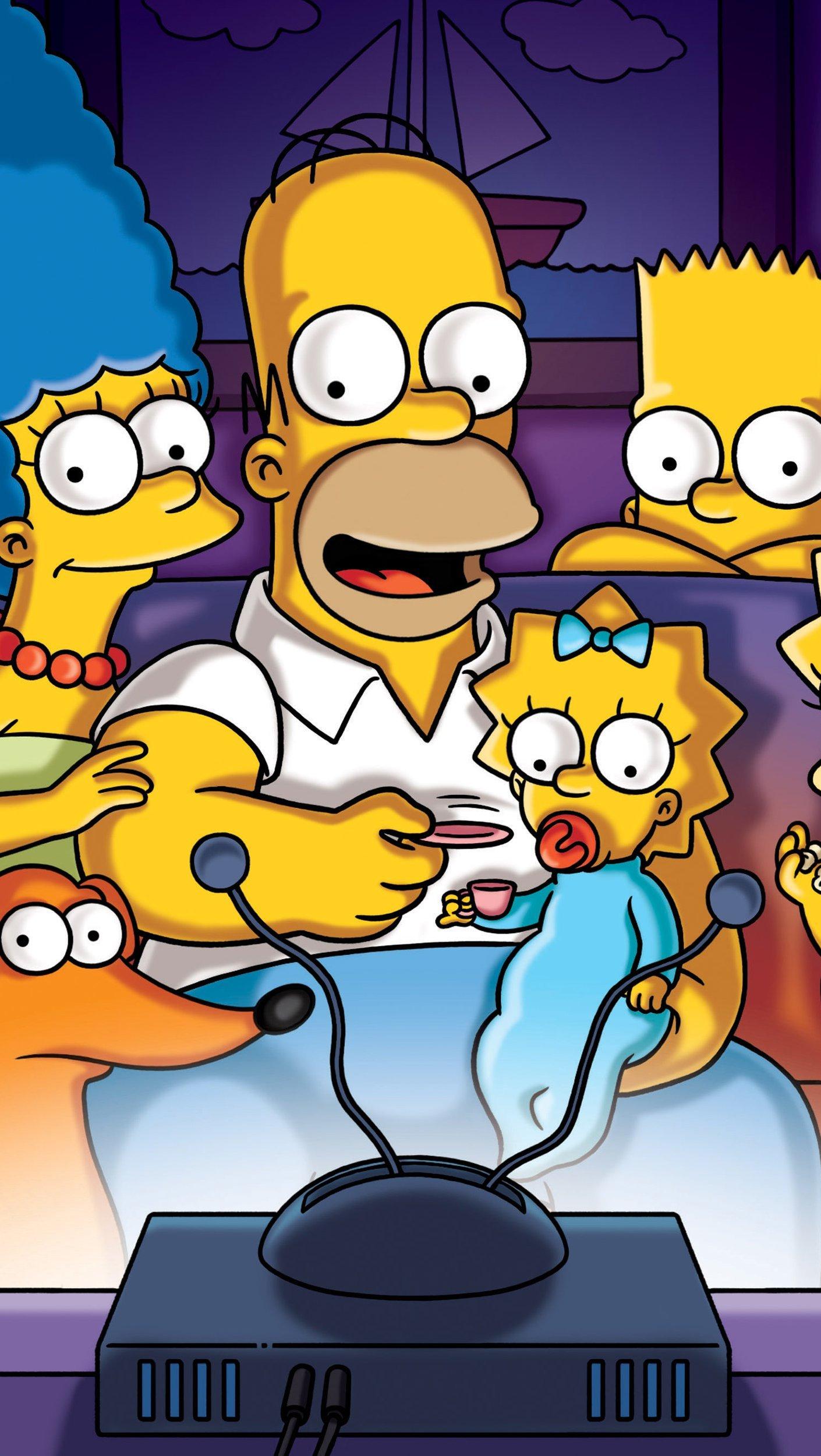 Fondos de pantalla Los Simpsons Vertical