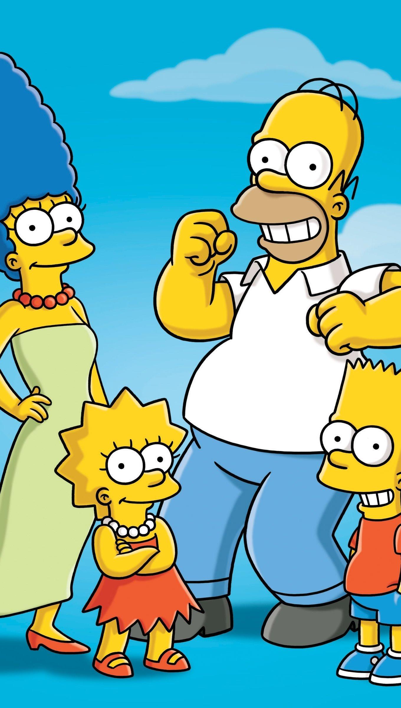 Wallpaper The Simpsons Vertical