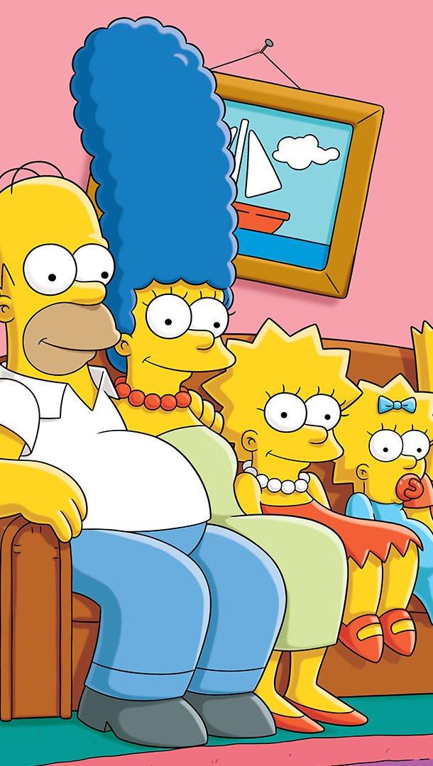 Wallpaper The Simpsons Original Vertical