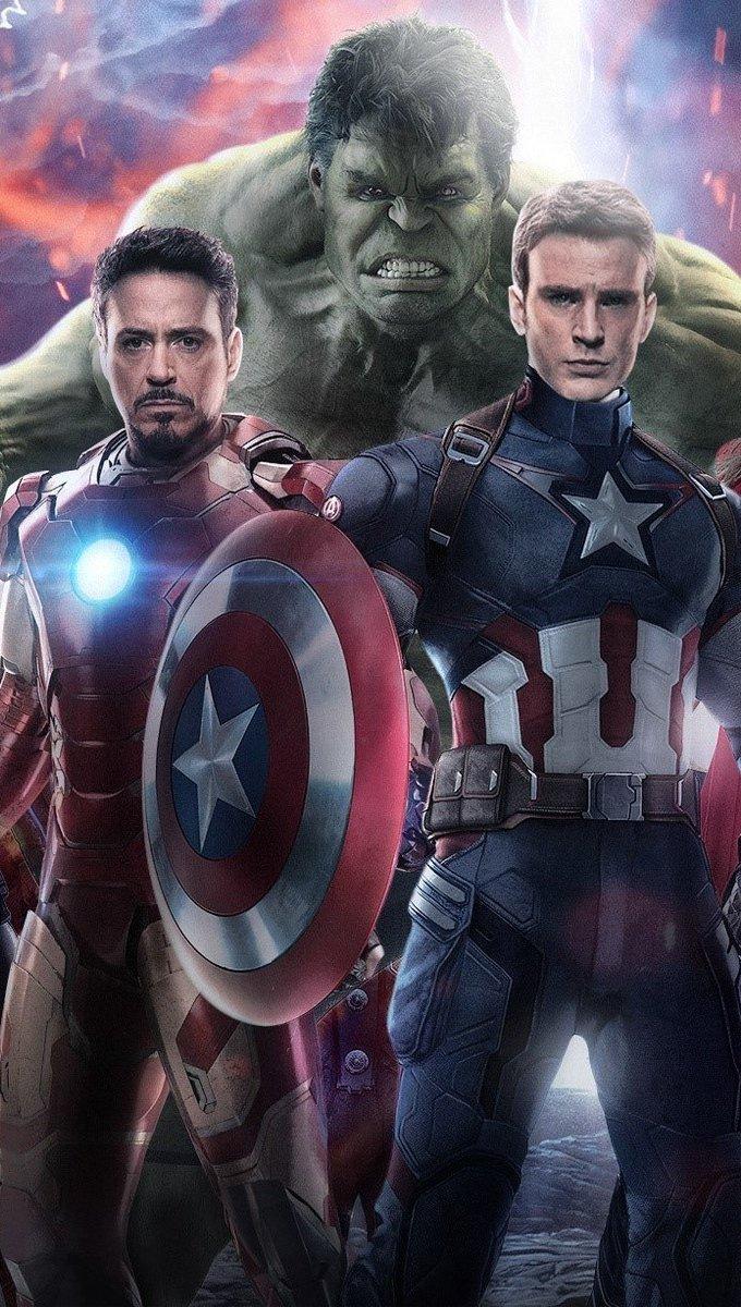 Wallpaper The Avengers Era de Ultron Vertical