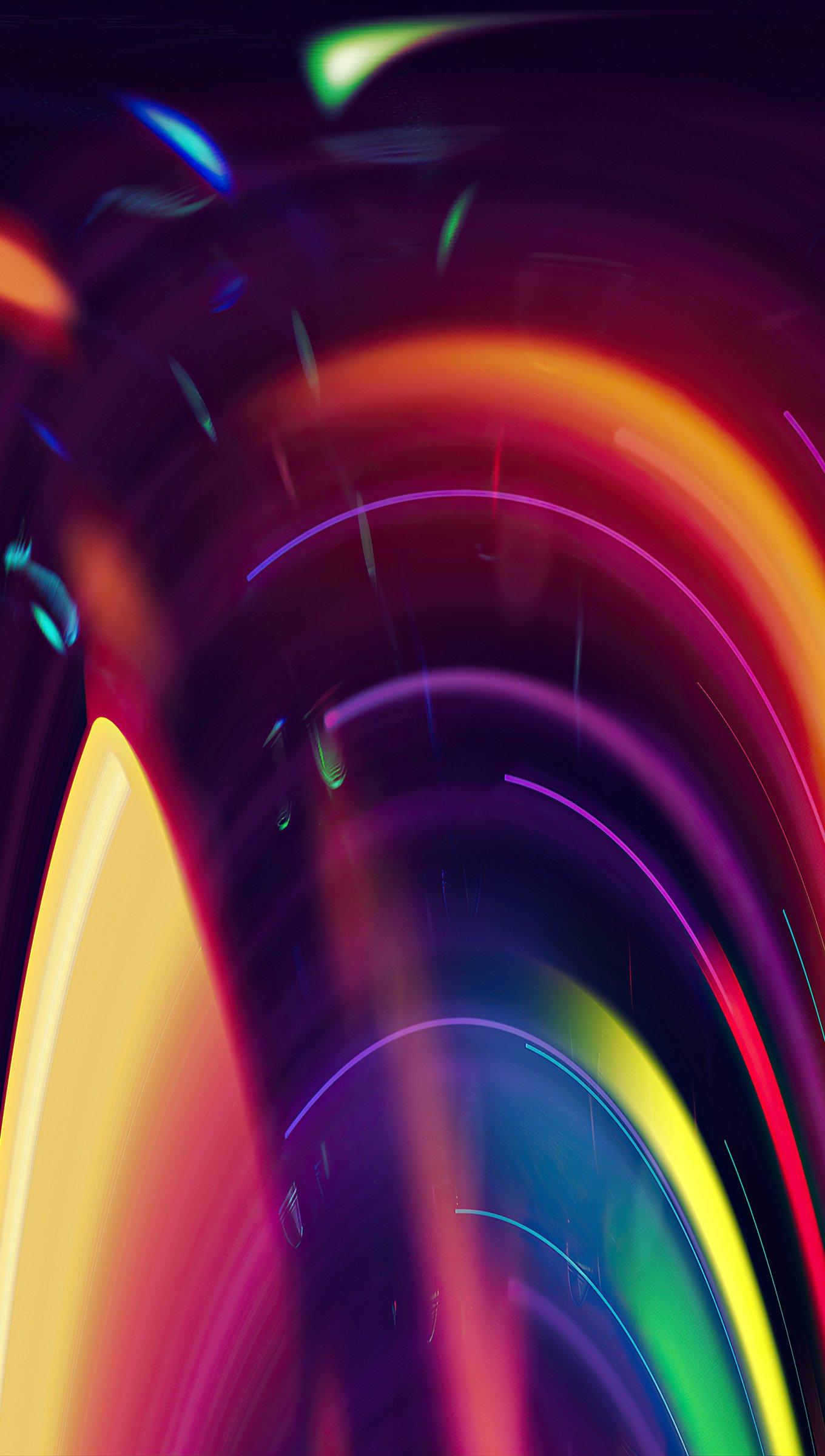 Fondos de pantalla Luces artisticas en movimiento Vertical