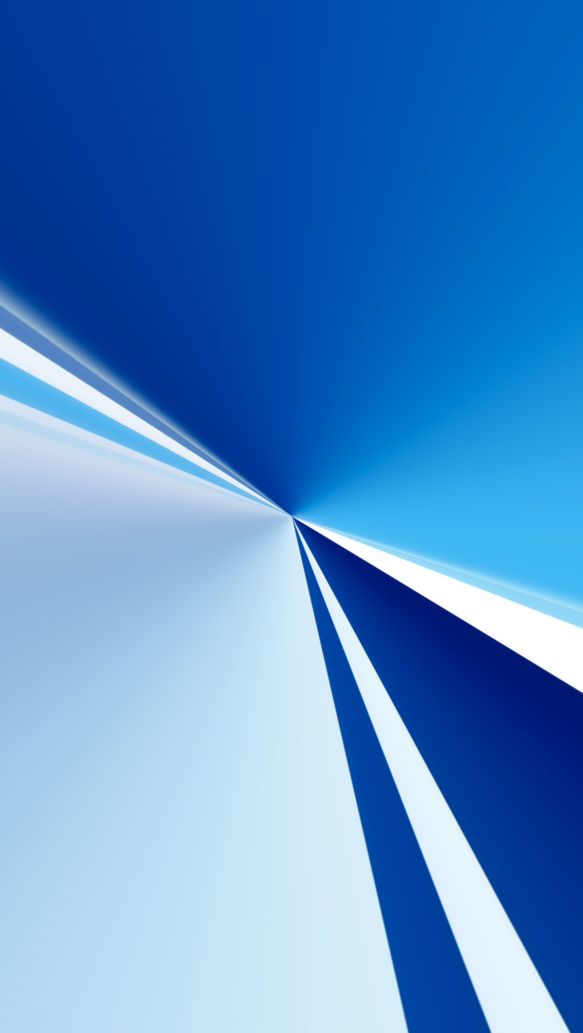 Fondos de pantalla Luces azules en figuras geometricas Vertical