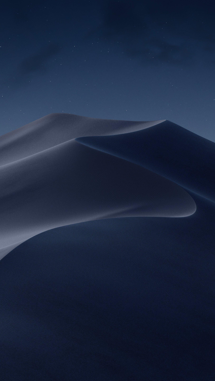 Fondos de pantalla macOS Mojave Modo nocturno Vertical