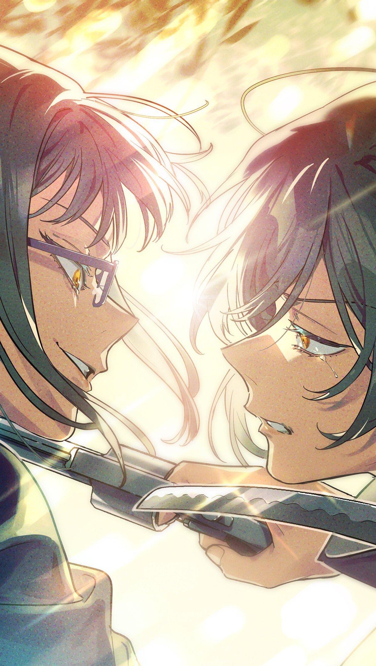 Fondos de pantalla Anime Maki Zenin vs Mai Zenin de Jujutsu Kaisen Vertical
