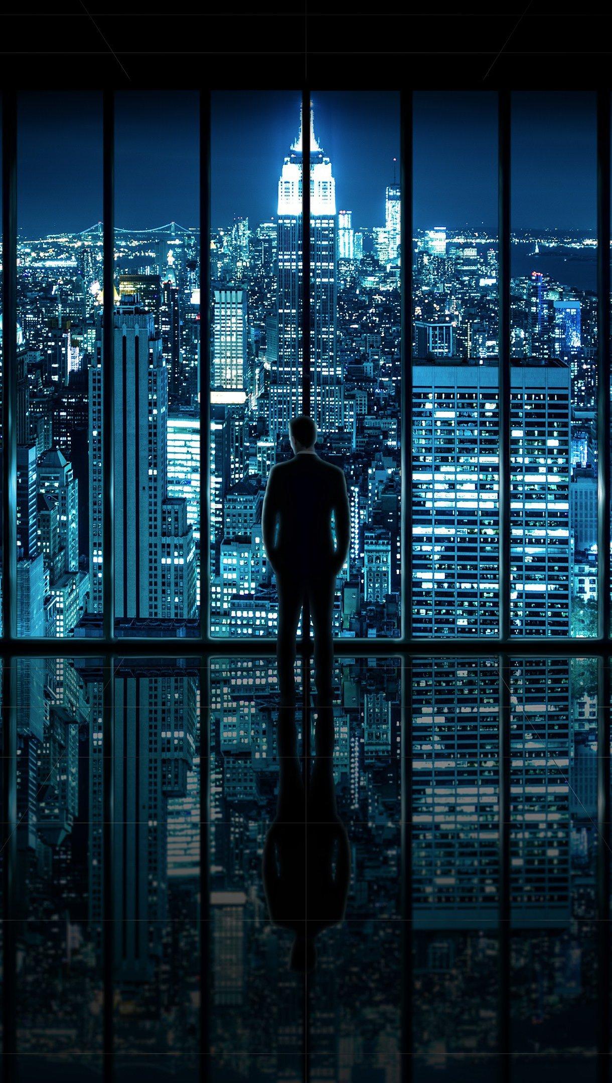 Wallpaper Man New York Vertical