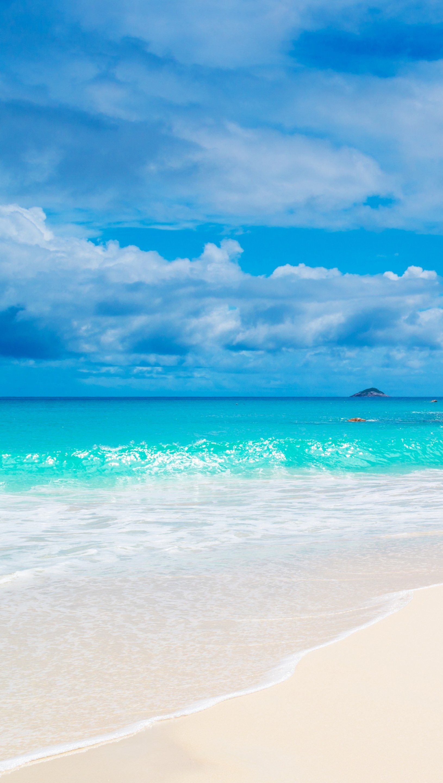 Fondos de pantalla Mar de Maldivas Vertical