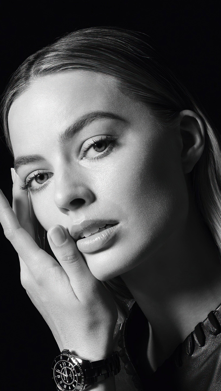 Fondos de pantalla Margot Robbie campaña Chanels J12 Vertical