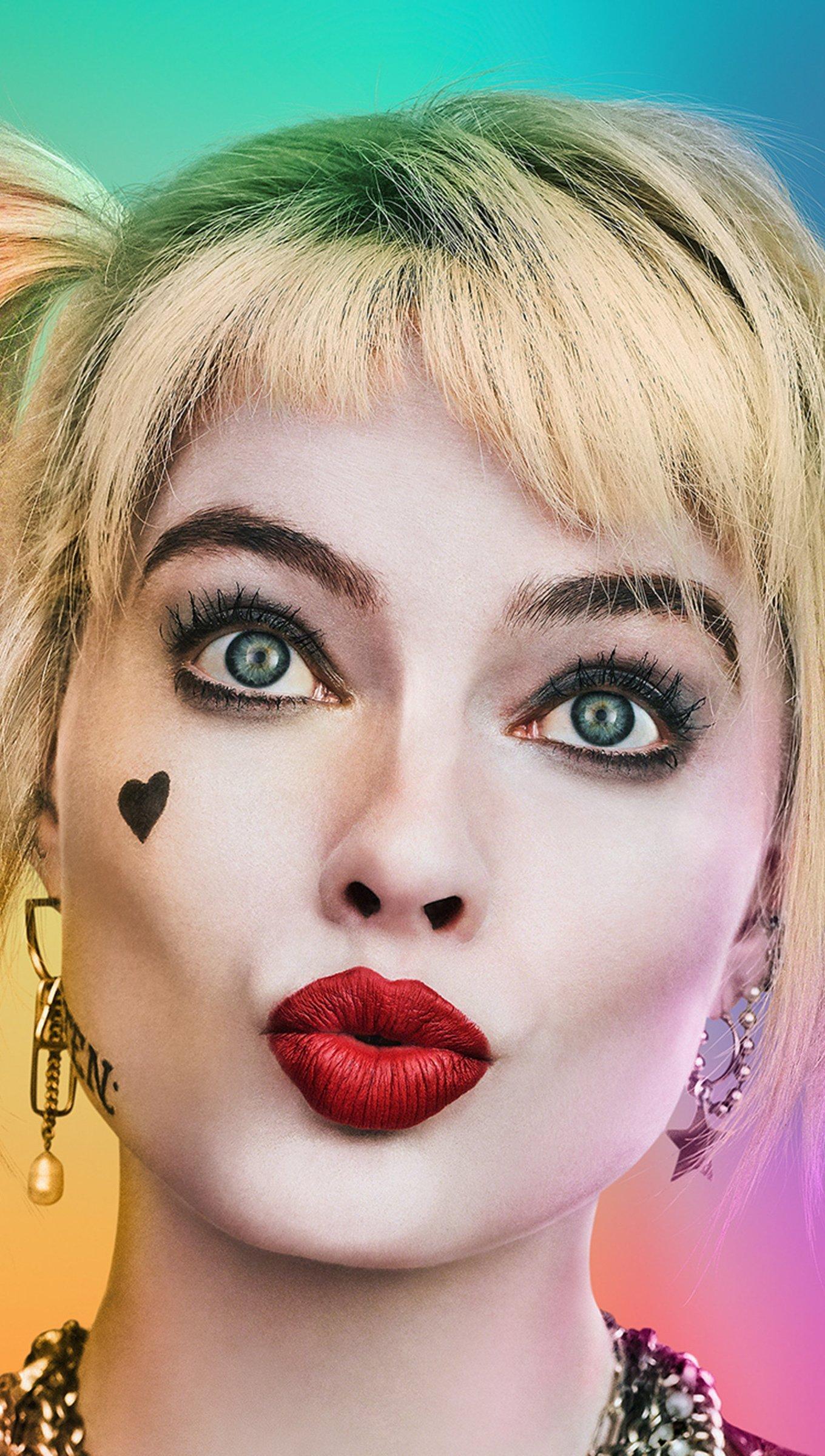 Fondos de pantalla Margot Robbie en Aves de Presa Vertical