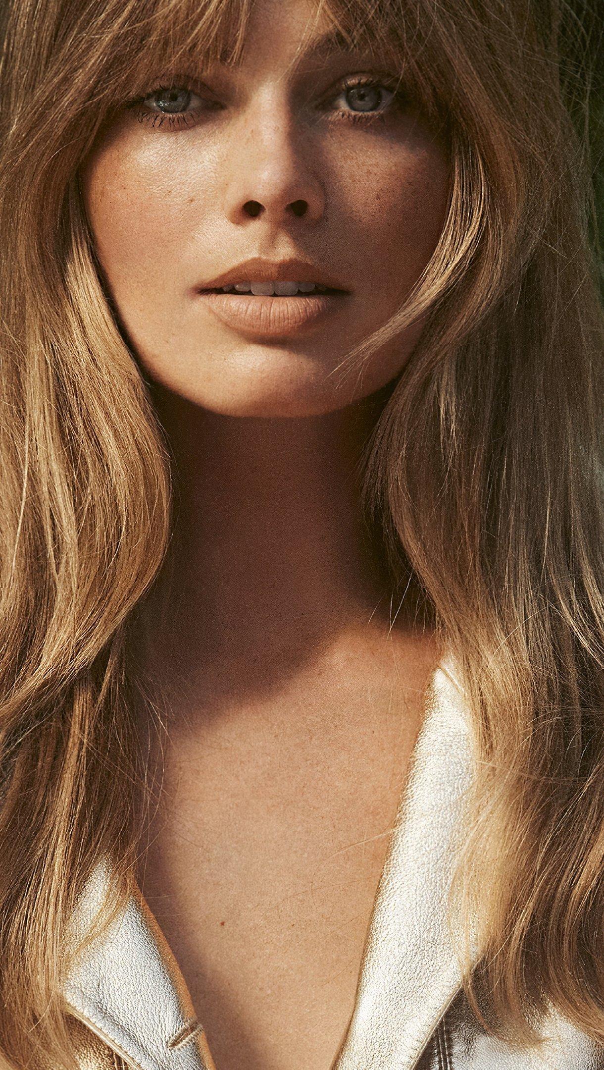 Fondos de pantalla Margot Robbie Vogue UK Vertical