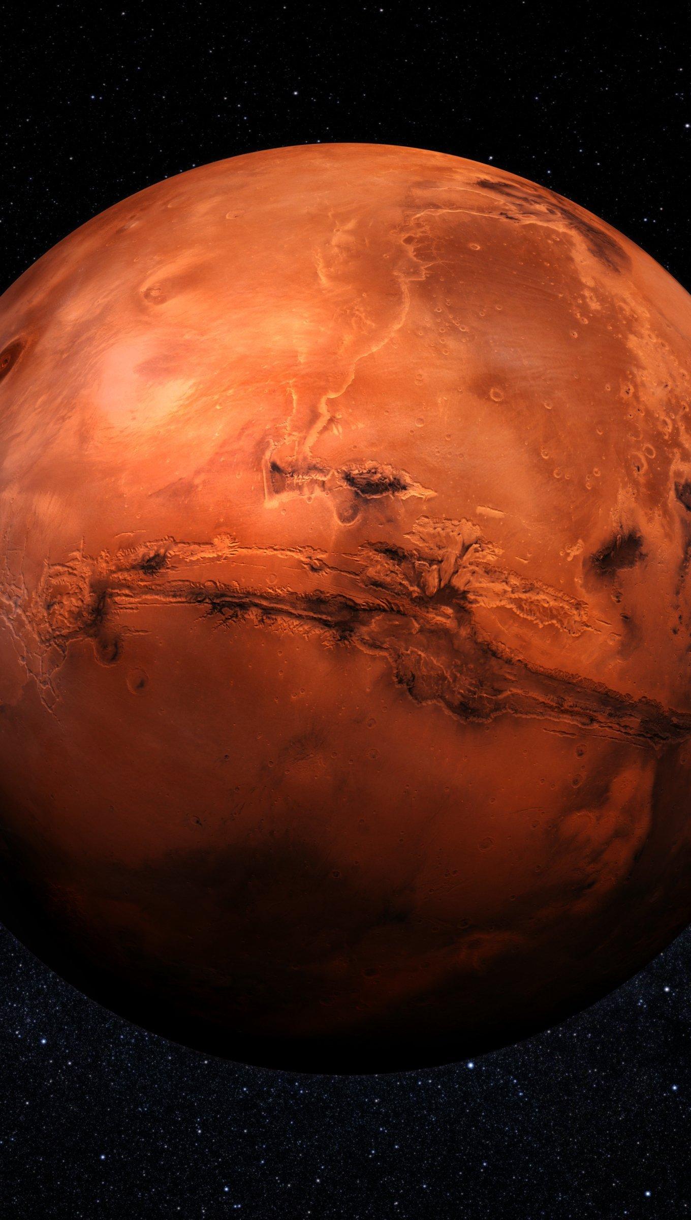 Fondos de pantalla Marte Vertical