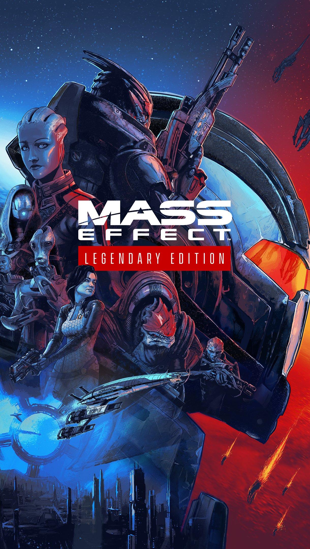 Wallpaper Mass Effect Legendary edition Vertical