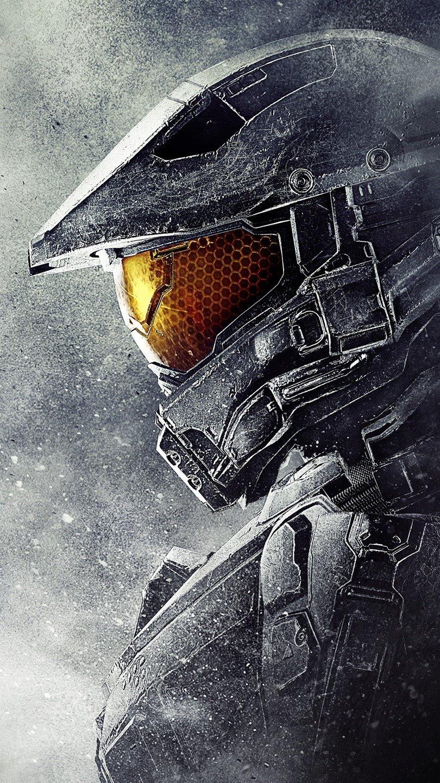 Wallpaper Master Chief at Halo 5 Guardians Vertical