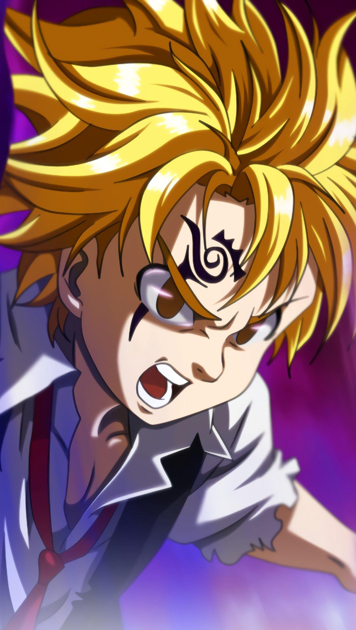 Fondos de pantalla Anime Meliodas de Los siete pecados capitales Vertical