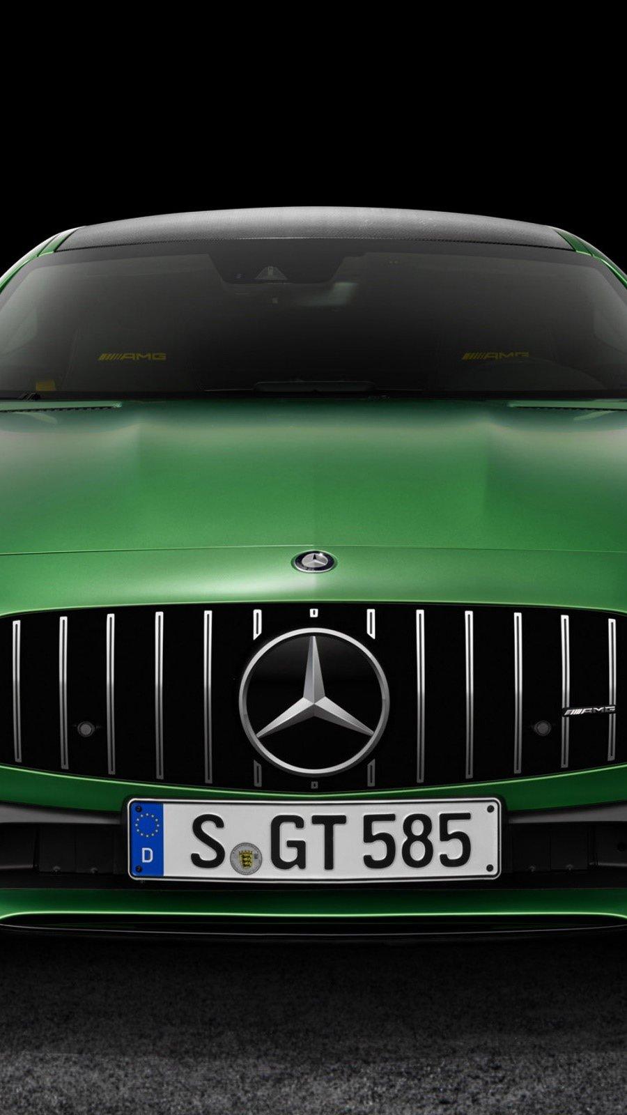 Wallpaper Mercedes AMG GT R Vertical
