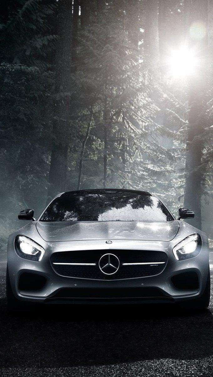 Wallpaper Mercedes Benz AMG GT S Vertical