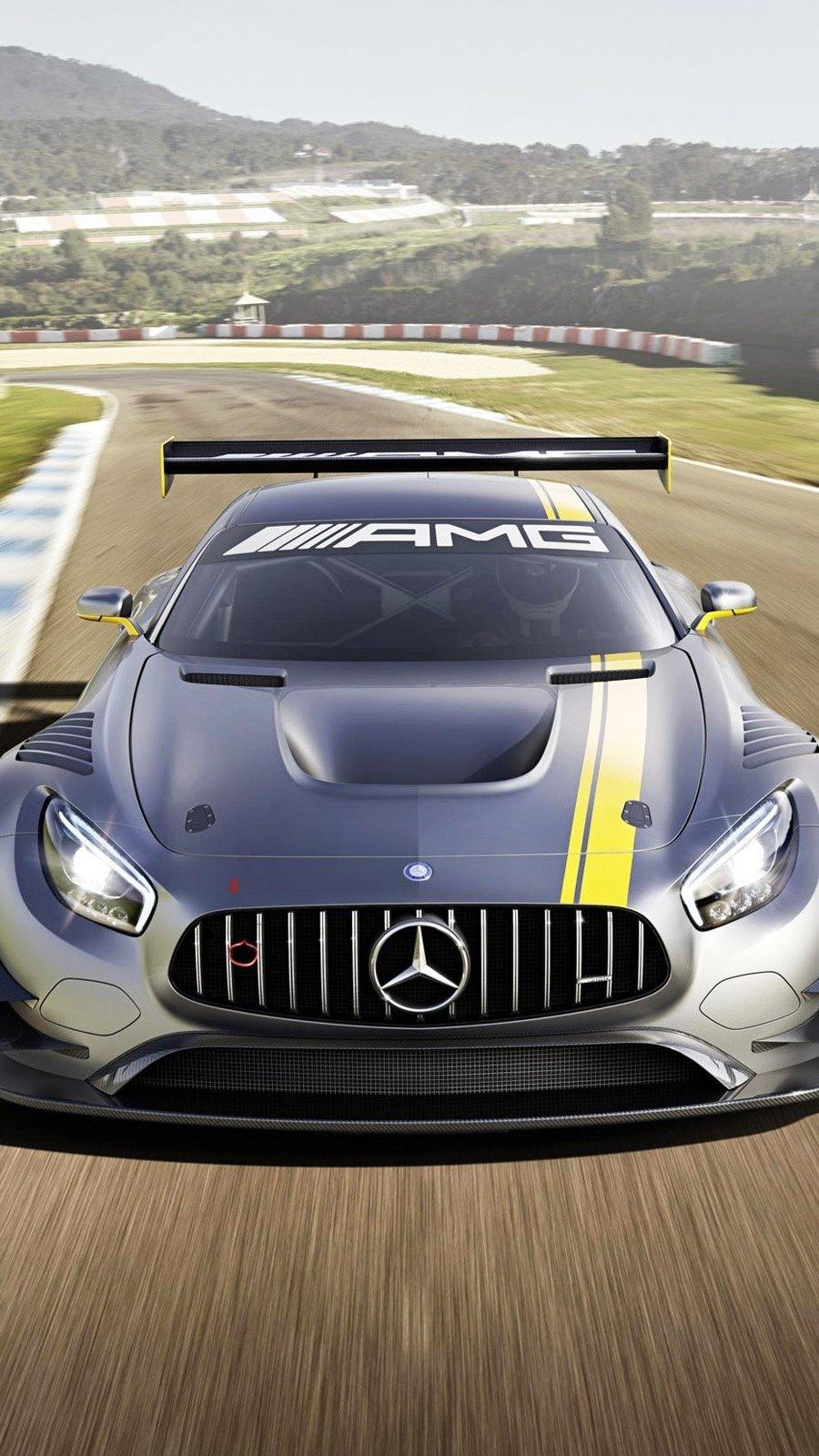 Fondos de pantalla Mercedes Benz AMG GT3 Vertical