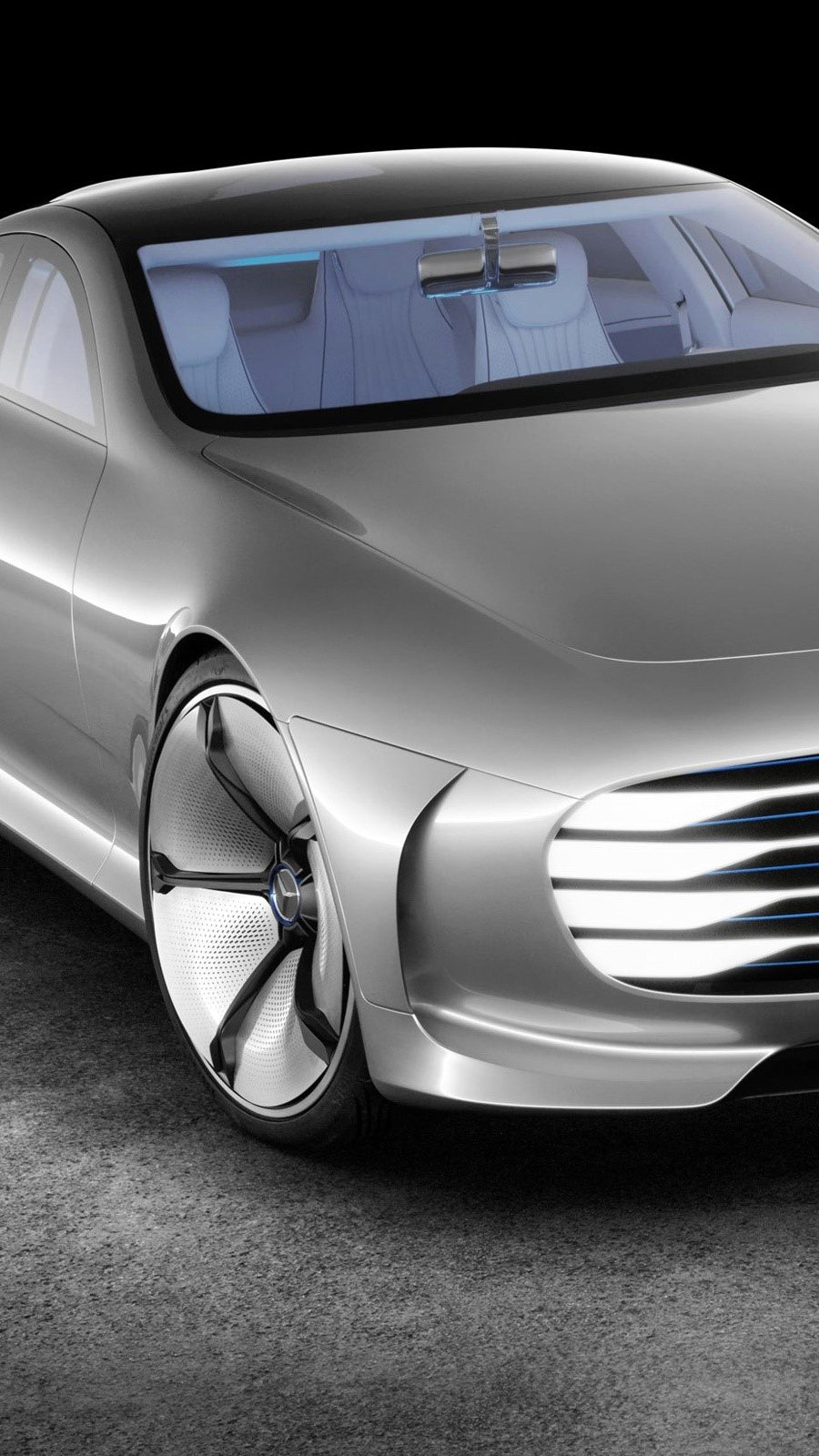 Wallpaper Mercedes Benz Concept IAA Vertical