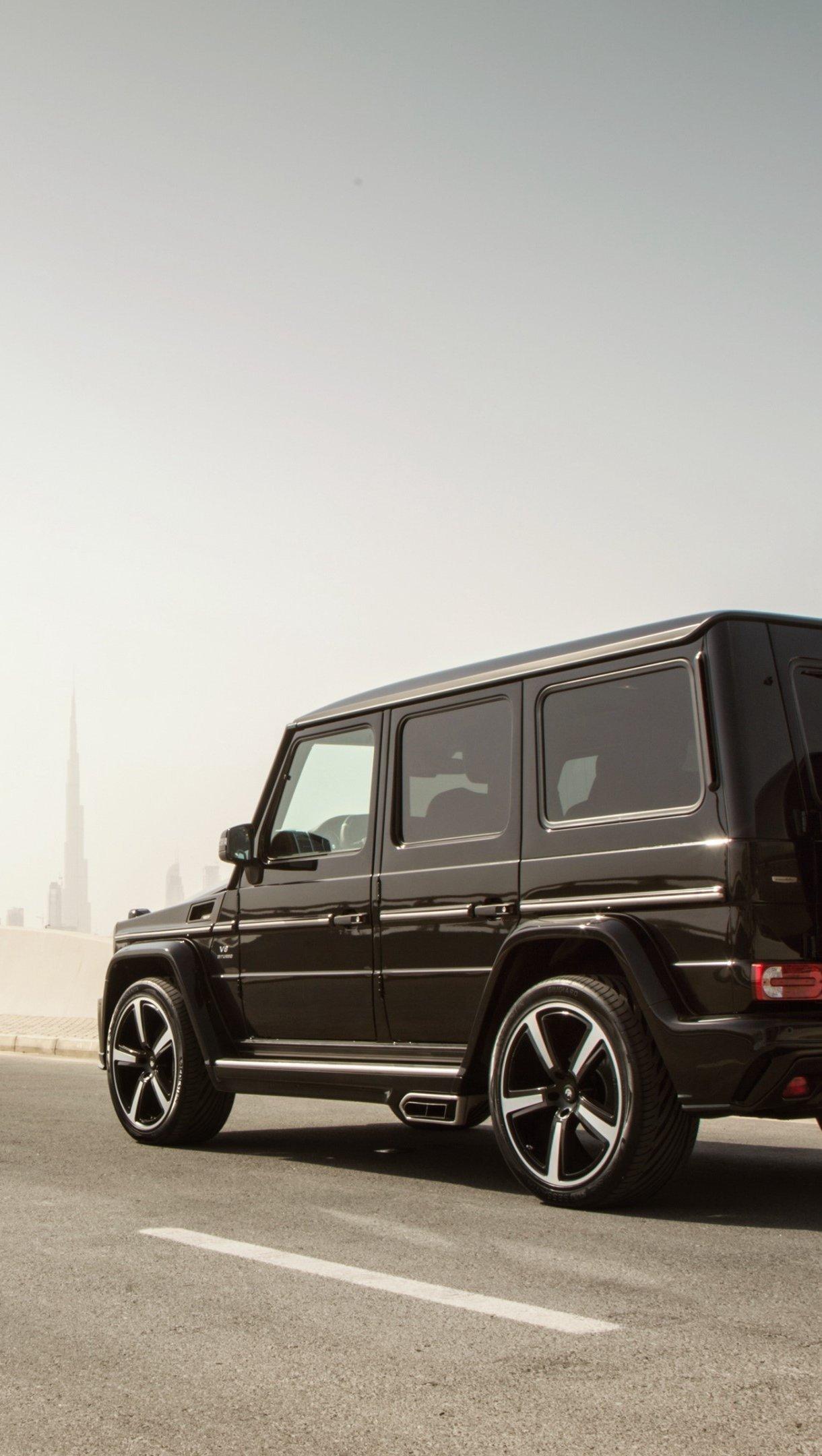 Fondos de pantalla Mercedes benz G Klasse W463 negro Vertical