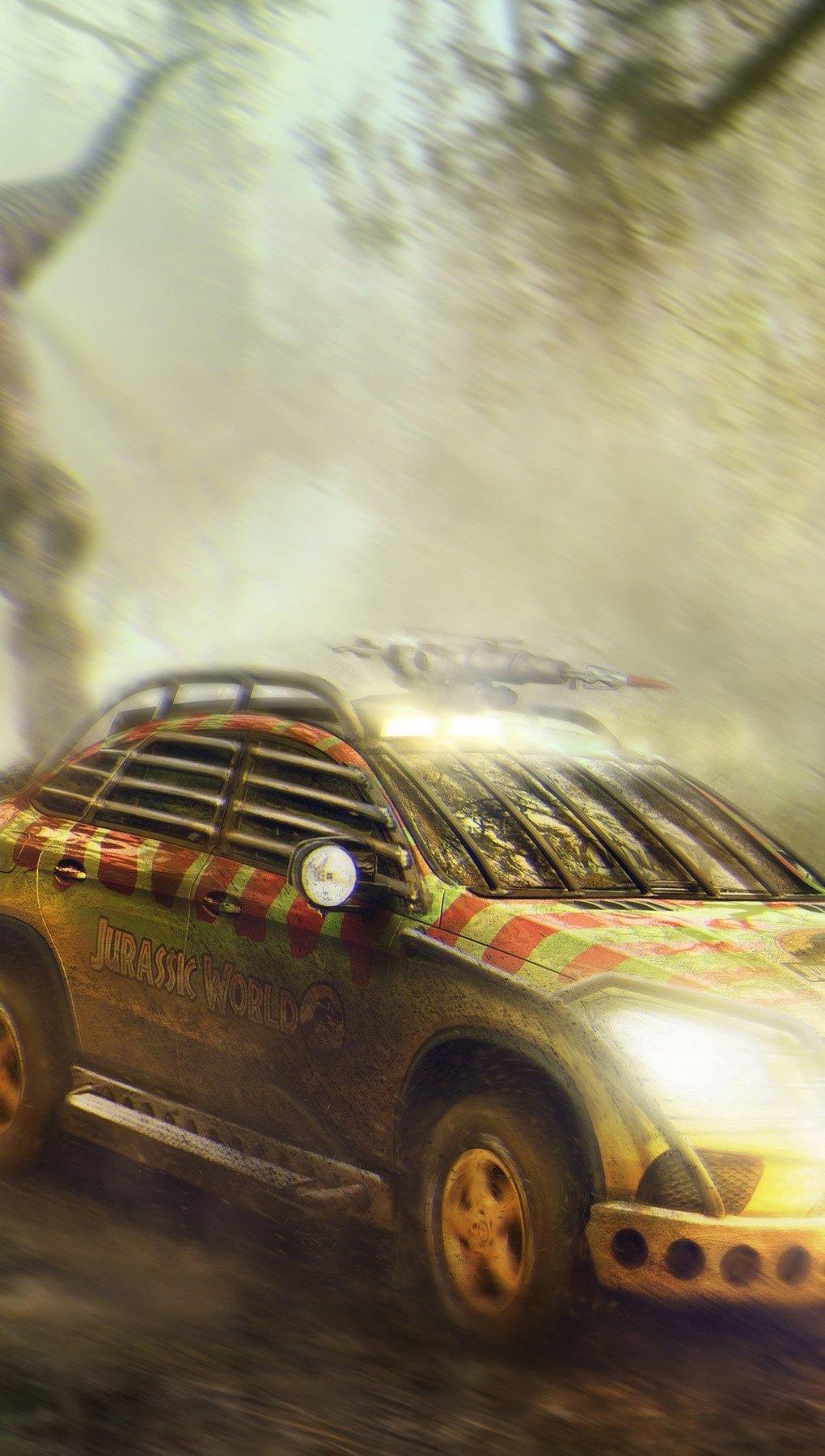 Fondos de pantalla Mercedes Benz GLE coupe de Jurassic World Vertical