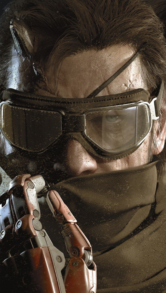Wallpaper Metal Gear Solid V: The Phantom Pain Vertical