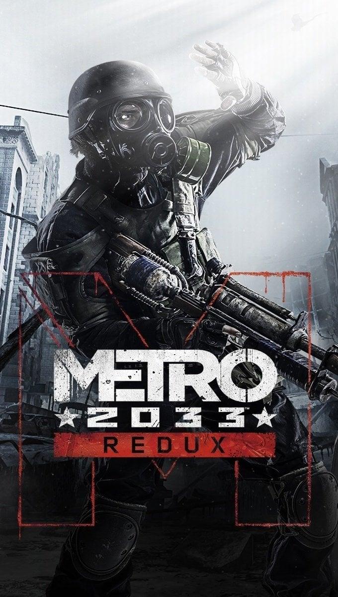 Wallpaper Metro 2033 Redux Vertical