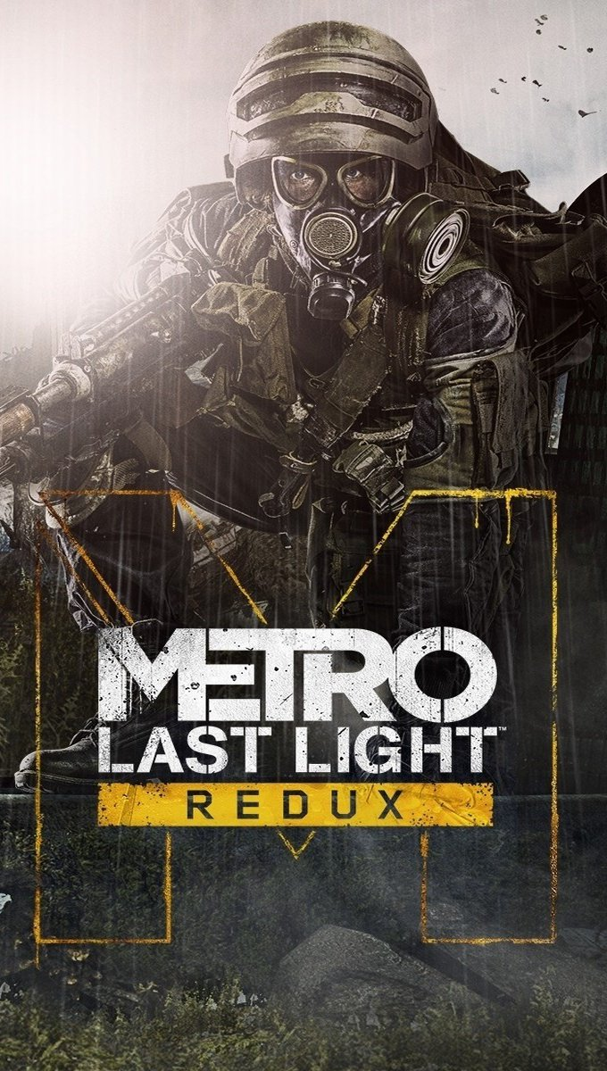 Wallpaper Metro Last Light Redux Vertical