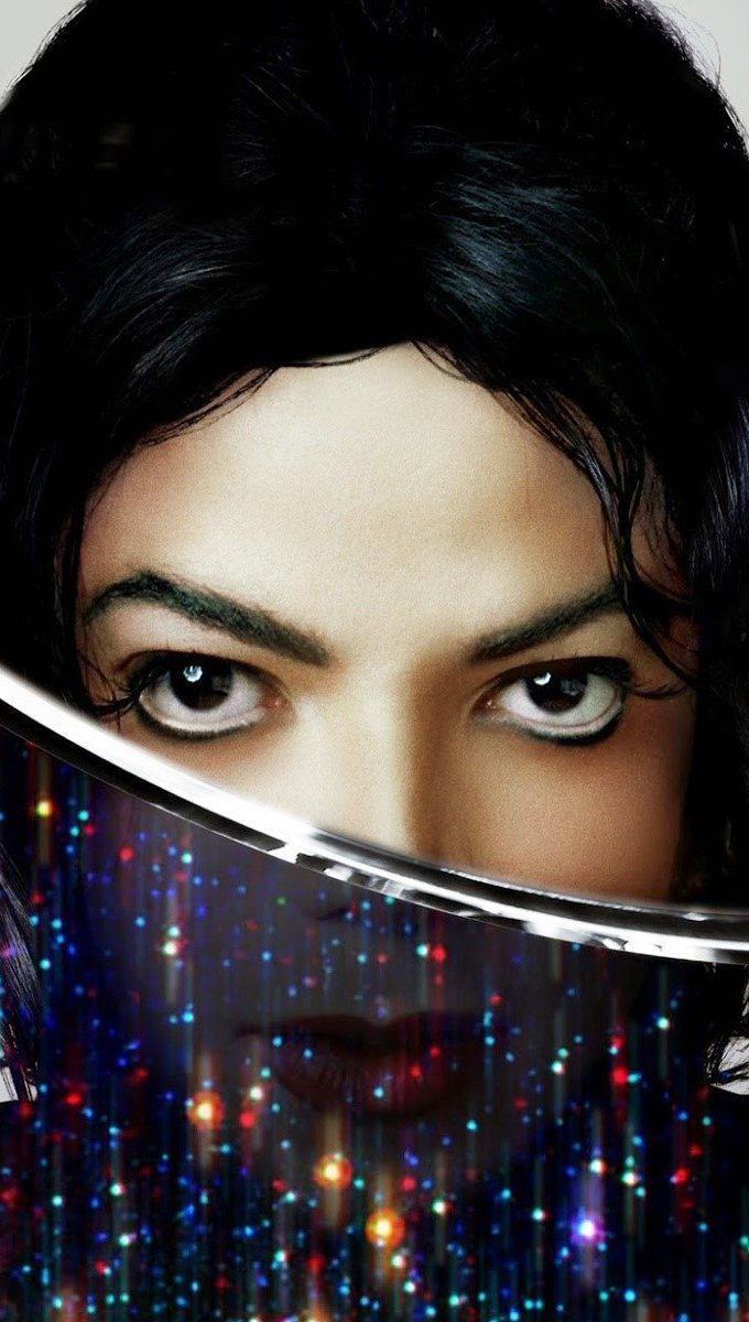 Wallpaper Michael Jackson for his album xscape Vertical