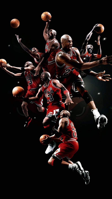Fondos de pantalla Michael Jordan Poster Vertical